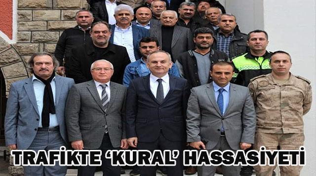 TRAFİKTE 'KURAL' HASSASİYETİ
