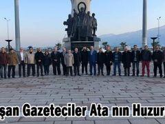 Çalışan Gazeteciler Ata nın Huzurunda