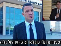 MECLİS ÜYELERİNİ DİSİPLİNE SEVKETTİ!