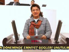 """""""SALGIN DÖNEMİNDE EMNİYET GÜÇLERİ UNUTULMAMALI"""""""