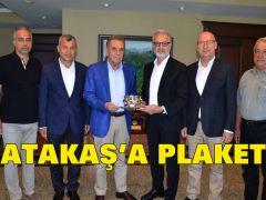 ATAKAŞ'a PLAKET