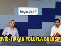 """COVİD-19 KAN YOLUYLA BULAŞMAZ"""