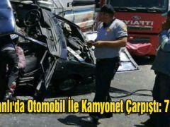 Reyhanlı'da Otomobil İle Kamyonet Çarpıştı: 7 Yaralı