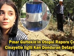 Pınar Gültekin'in Otopsi Raporu Çıktı! Cinayetle İlgili Kan Donduran Detaylar Var