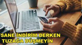 EFSANE CUMA İNDİRİMLERİNDE SİTELERDE DİKKAT!