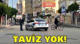 TAVİZ YOK!