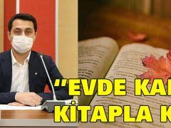 """ERZİN'DEN """"EVDE KAL,KİTAPLA KAL"""" ÇAĞRISI"""