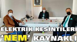 ELEKTRİK KESİNTİLERİ 'NEM' KAYNAKLI
