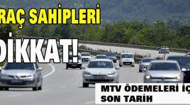 ARAÇ SAHİPLERİNE DİKKAT!