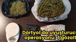 DÖRTYOL'DA UYUŞTURUCU OPERASYONU