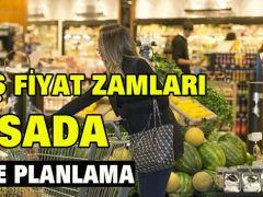 FAHİŞ FİYAT ZAMLARI MASADA