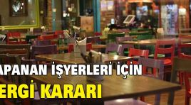 FLAŞ VERGİ KARARI!
