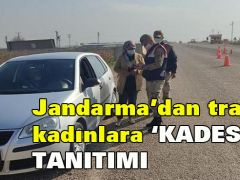JANDARMA'DAN KADINLARA 'KADES' TANITIMI