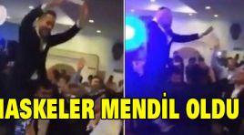 KONGREDE MASKELER MENDİL OLDU!