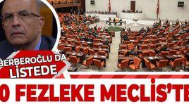 10 FEZLEKE MECLİS'TE