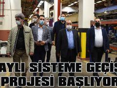"""""""RAYLI SİSTEME GEÇİŞ""""PROJESİ BAŞLIYOR"""