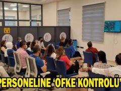 TAPU PERSONELİNE 'ÖFKE KONTROLÜ'EĞİTİMİ