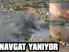 MANAVGAT YANIYOR