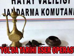 DÖRTYOL'DA TARİHİ ESER OPERASYONU